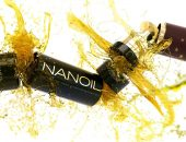 save damaged hair with Nanoil