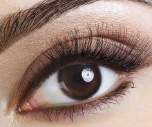take care of lashes after false eyelash extension