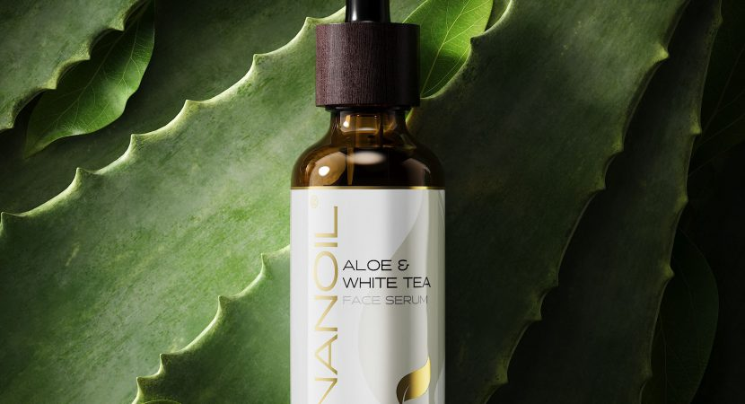 nanoil aloe and white tea face serum